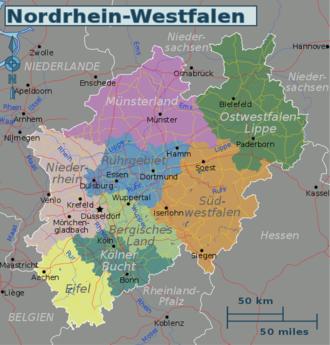 Nordrhein-Westfalen – Reiseführer auf Wikivoyage
