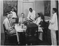"""NYA-Arizona-""""colored boys attending WPA household workers training center(WPA Divisiion of Employment & U.S.E.S.... - NARA - 195373.tif"""