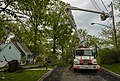 NYSEG utility workers at site of downed tree after May 2018 derecho, Walden, NY.jpg