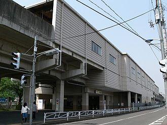 Naganuma Station (Tokyo) - Naganuma Station, May 2007