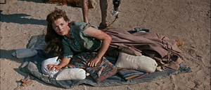 English: Nancy Gates in Comanche Station (1960)