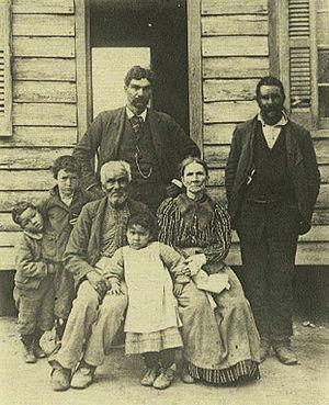 Nansemond - Members of the Nansemond tribe, c. 1900