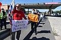 Napisi na protestu proti predsedniku Borutu Pahorju na Fernetičih 06.jpg