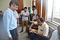 Narayana Peesapati Observes Use Of Edible Spoon - NCSM - Kolkata 2018-05-11 2456.JPG