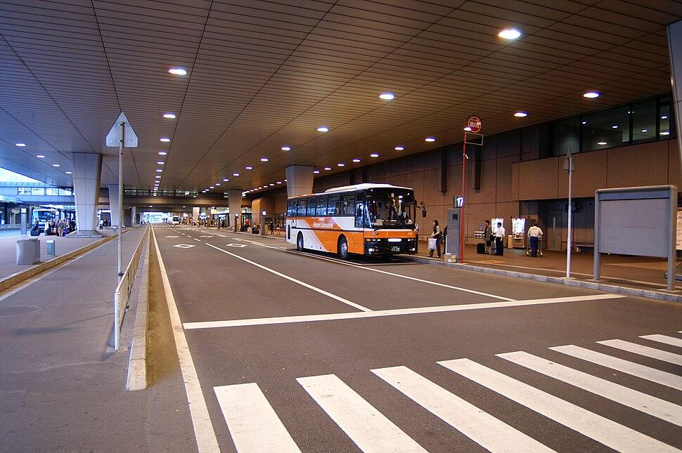 Narita International Airport - Terminal 2 passenger drop-off