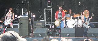 Nashville Pussy American rock & roll band from Atlanta, Georgia