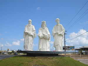 Natal, Brazil. Three Wise Men Monument.
