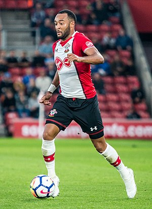Nathan Redmond - Redmond playing for Southampton in 2017