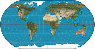 Natural Earth projection map projection