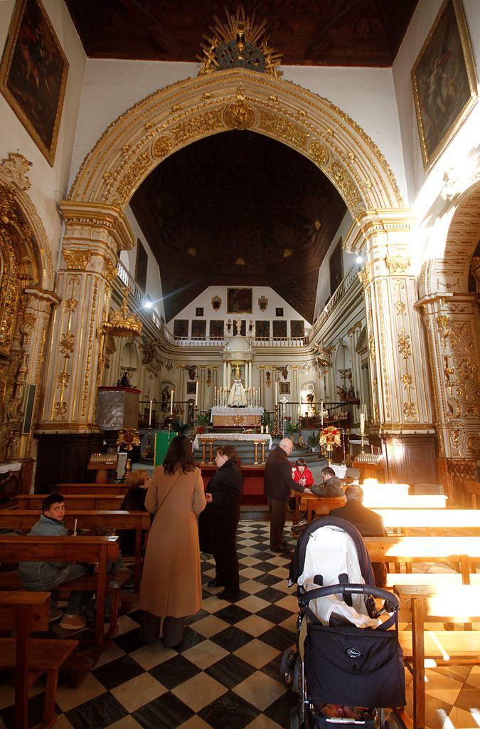 File nave of the church of san gil y santa ana granada 2 - Santa ana granada ...