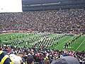 Nebraska vs. Michigan 2011 02 (Michigan band).jpg