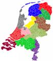 Nederlandse provincies (gemeenten).png