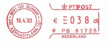 Netherlands stamp type QB6A.jpg