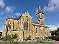 Neuville-lès-This (Ardennes) église, vue latérale.JPG