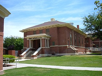 National Register of Historic Places listings in Otero County, New Mexico - Image: New Mexico School for the Blind Harry Ditzler auditorium