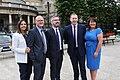 Niall Ó Donnghaile, Chris Hazzard, Elisha McCallion, Michelle Gildernew, Paul Maskey, (43173178431).jpg