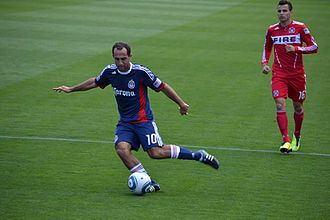Marco Pappa - Marco Pappa playing for Chicago Fire