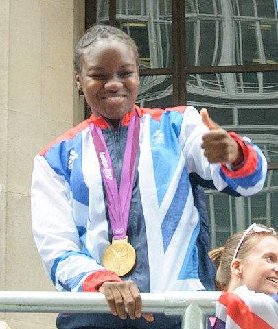 Team GB's Olympic boxing champion Nicola Adams