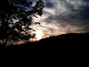 Abendklänge, WAB 110 - Image: Night Sky