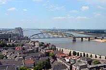 Nijmegen railway bridge WikiVisually
