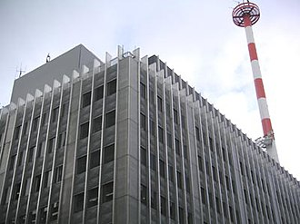 The Nikkei - Former headquarters in Ōtemachi, Chiyoda, Tokyo