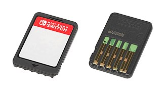 Nintendo Switch - The Nintendo Switch's game cartridge