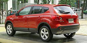 Nissan Qashqai - Nissan Dualis (Japan; pre facelift)