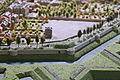 Noordelijke walmuur bij Boschhoornwerk en pesthuis, detail kopie Maquette van Maastricht, collectie Centre Céramique.JPG