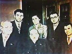 Norayr Mnatsakanyan - Norayr Mnatsakanyan with Avetik Isahakian and others