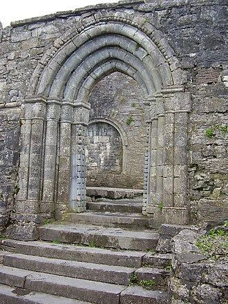 Cong Abbey - Image: North Doorway Cong Abbey