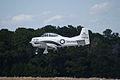North American T-28B Trojan Marines NJ300H Landing 01 TICO 13March2010 (14596214541).jpg