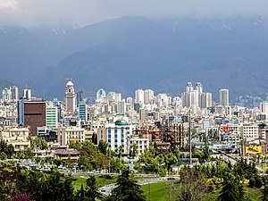 Economy of Iran - Image: North Tehran Towers