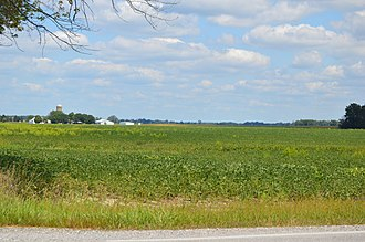 Prospect Township, Marion County, Ohio - Fields east of Prospect