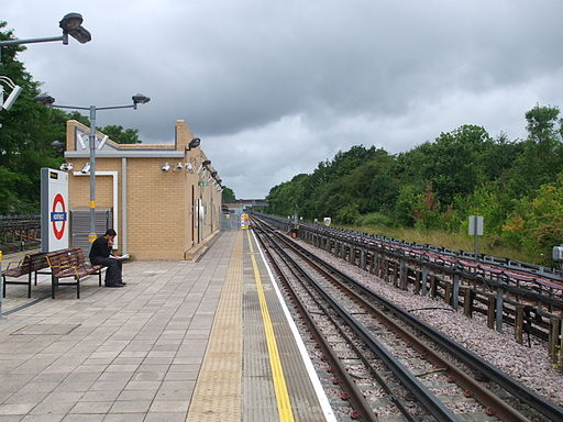 Northolt station westbound