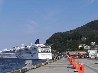 Norwegian Star in Ketchikan, Alaska 2.jpg