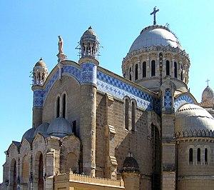 Jean-Eugène Fromageau - Notre Dame d'Afrique, designed by Fromageau.