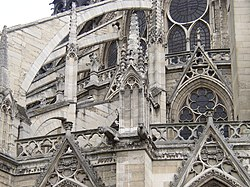 Notre Dame de Paris: Flying Buttress