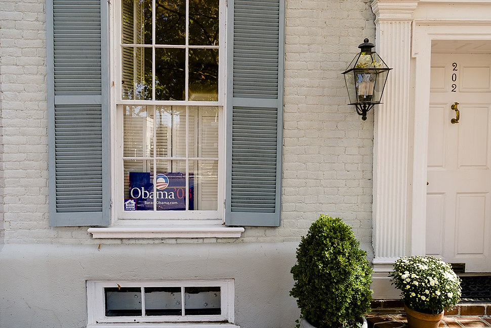 Obama Sign Arlington Virginia