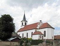 Oberschaeffolsheim, Église Saint-Ulrich 1.jpg