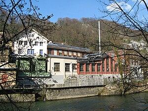 Obersiggenthal - Former Oederlin AG Factory dock in Obersiggenthal-Rieden