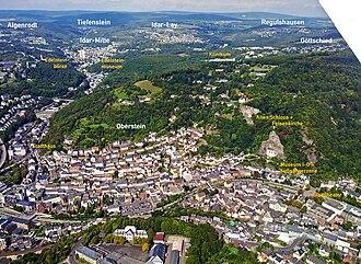 Idar-Oberstein - Aerial photograph