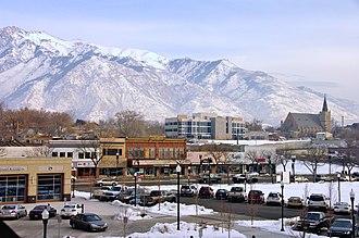 Wasatch Front - Utah State Capitol, Salt Lake City