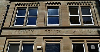 Macclesfield - Old Borough Police Station