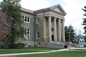 Old Library, West Chester - Image: Old Library WCU