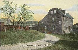Chelsea, Massachusetts - Old Pratt House in 1908