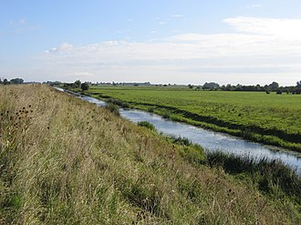 Old Bedford River - A section of the Old Bedford River near Mepal