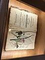 Old pharmacy herb book in exposition History of pharmacies in Kuks Hospital in Kuks, Trutnov District.jpg