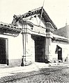 Old spanish doorway of the colonial period, Santiago Chile.jpg