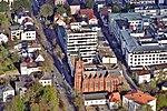 Oldenburg Forumskirche St. Peter + Nordwest-Zeitung aus der Luft.jpg