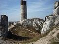 Olsztyn - Stare grodzisko u stóp Częstochowy z 1349r. - panoramio.jpg